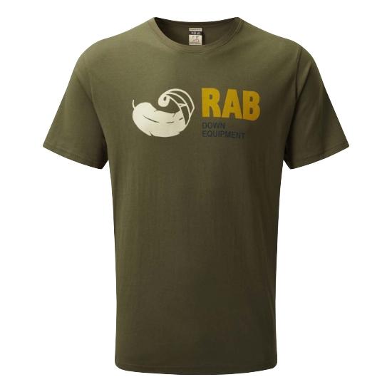 Rab Stance Vintage SS Tee - Army