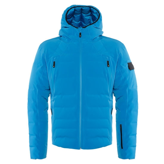Dainese Ski DownJacket Sport - Imperial Blue/Lime