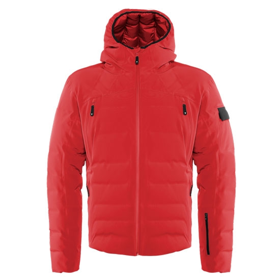 Dainese Ski DownJacket Sport - Chili Pepper/Stretch Lime
