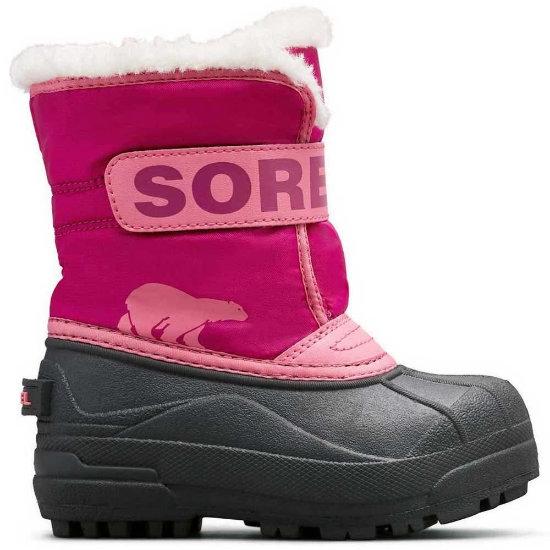Sorel Snow Commander Childrens - Tropic Pink/Deep Blush