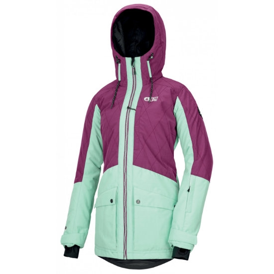 Picture Mineral Jacket W - Raspberry