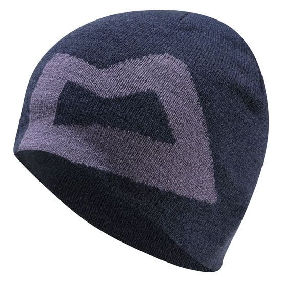 Mountain Equipment Branded Knitted Beanie W - Cosmos/W Slate