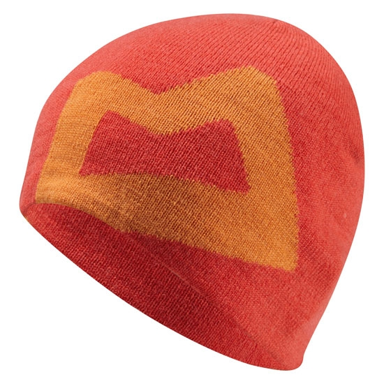 Mountain Equipment Branded Knitted Beanie - Cardinal/Russet