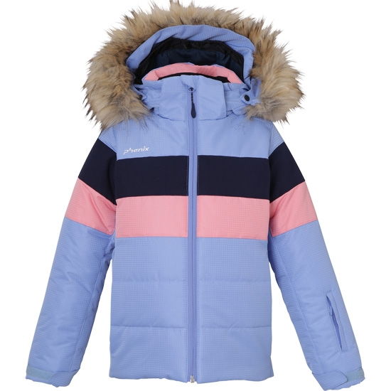 Phenix Marguerite Kid's Jacket - Light Blue