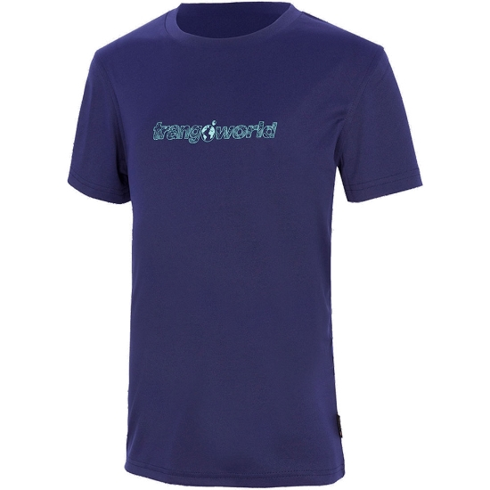 Trangoworld Camiseta Salenques Jr - Azul Noche