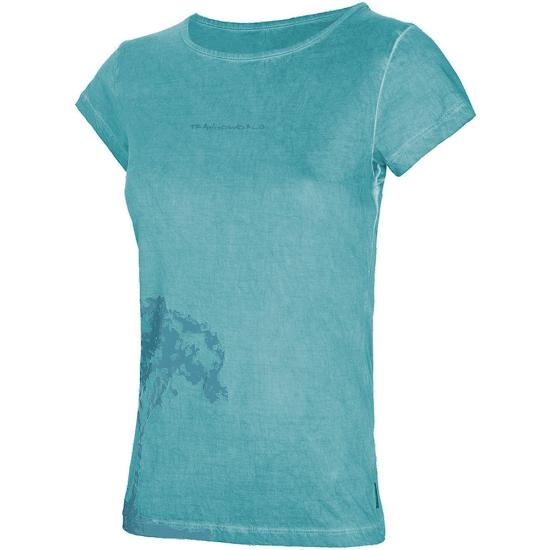 Trangoworld Camiseta Columpio W - Azul Claro