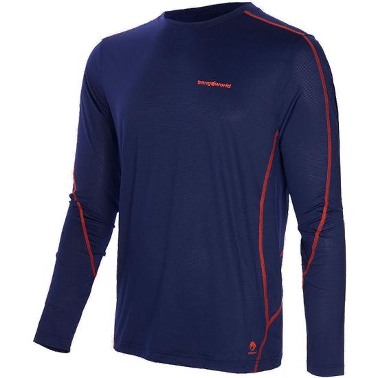 Trangoworld Camiseta Donon - Azul Noche