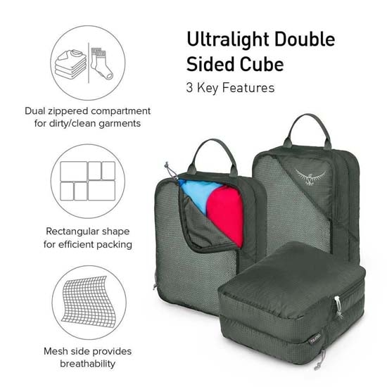 Osprey Ultralight Double Sided Cube L - Foto de detalle