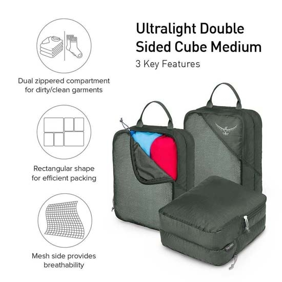 Osprey Ultralight Double Sided Cube M - Photo of detail
