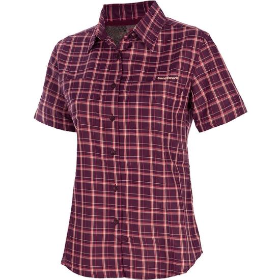 Trangoworld Camisa Lenes W - Violeta