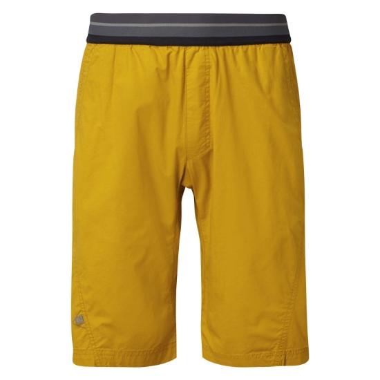 Rab Crank Shorts - Dark Sulphur