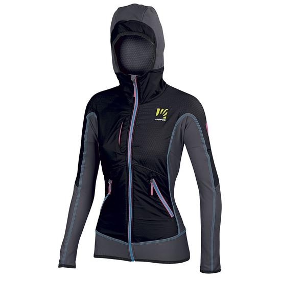 Karpos Alagna Plus Jacket W - D Grey/Black/D Blue