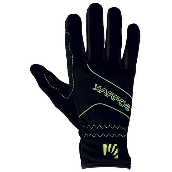 Karpos Alagna Glove - Black/Green Fluo