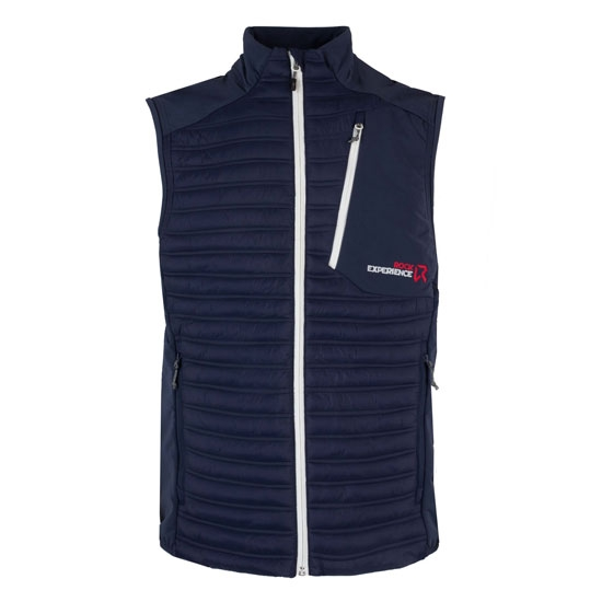 Rock Experience Malik Hybrid Vest - Blue Night