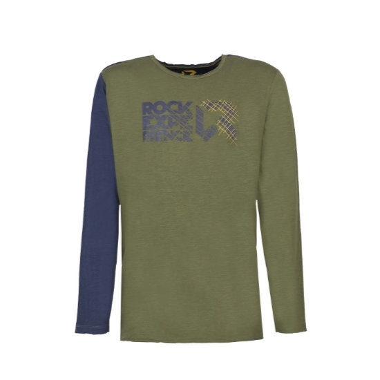 Rock Experience Condor Pass T-Shirt - Green/Blue Night