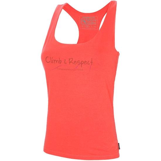 Trangoworld Camiseta Lazzi W - Coral Intenso
