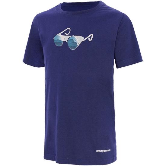 Trangoworld Camiseta Sabadero Jr - Azul Noche