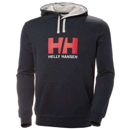 Helly Hansen Logo Hoodie - Navy