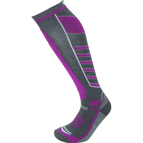 Lorpen S3WL T3 Ski Light W - Grey/purple