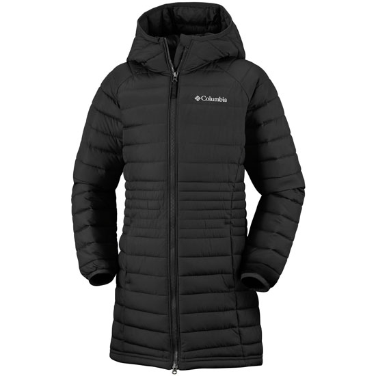 Columbia Powder Lite Girls Mid Jacket - Black