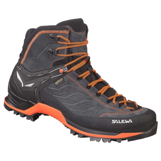 Salewa Mtn Trainer Mid GTX - Asphalt/Fluor Orange