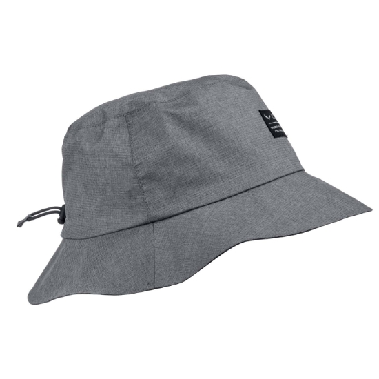 Salewa Fanes Brimmed Rain Hat - Black Out Melange