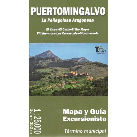 Ed. El Tossal MAPA PUERTOMINGALVO 1:25000 -