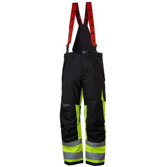 Helly Hansen Workwear Alna Winter Pant CL1 - Yellow/Ebony