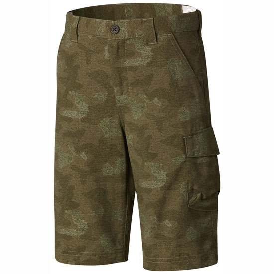 Columbia Silver Ridge Printed Short Boy - Cypress Multi