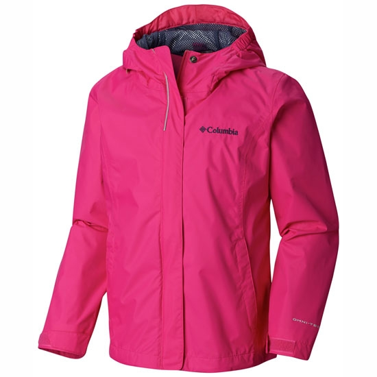 Columbia Arcadia Jacket Girl - Haute Pink