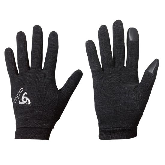 Odlo Natural +Warm Gloves - Black