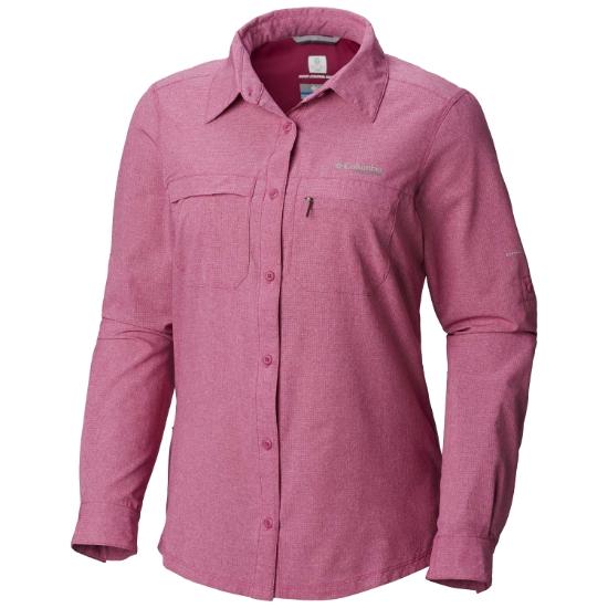Columbia Irico LS Shirt W - Haute Pink Heat