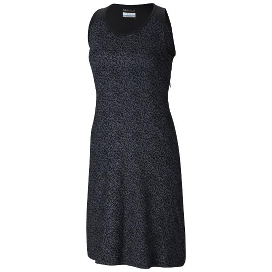 Columbia Saturday Trail Dress W -  Black Geo Print