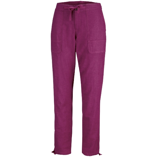 Columbia Summer Time Pant W - Wine Berry
