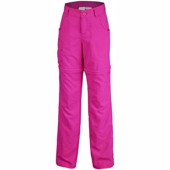Columbia Silver Ridge III Convertible Pant Girl - Haute Pink