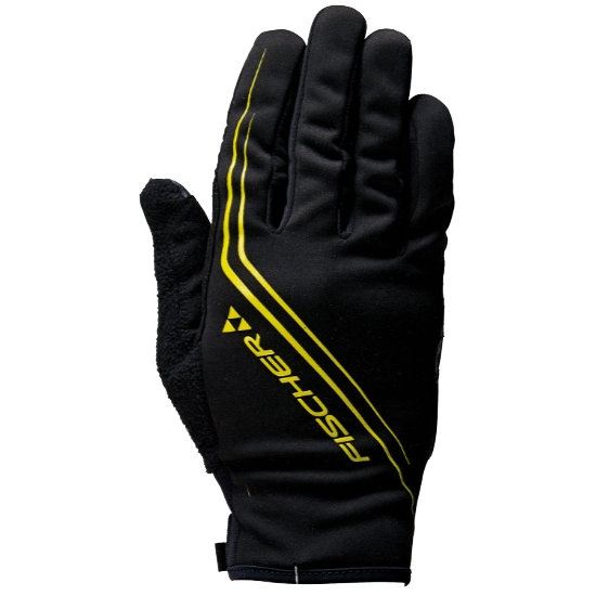Fischer XC Glove Comfort Plus - Black/Yellow