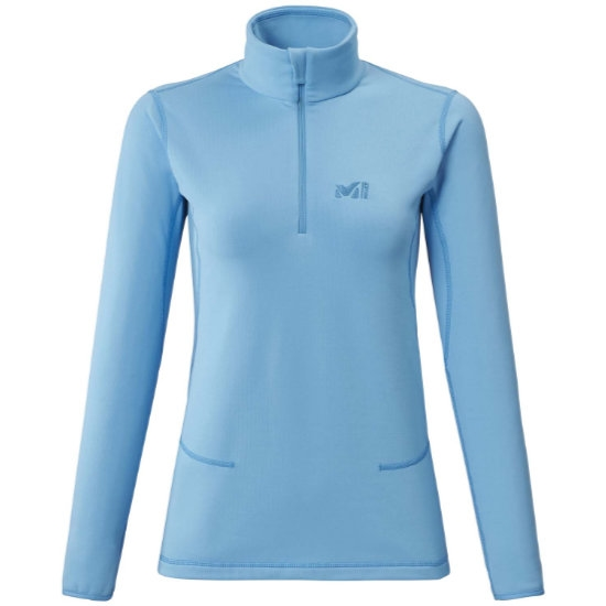 Millet Tech Stretch Top - Light Blue