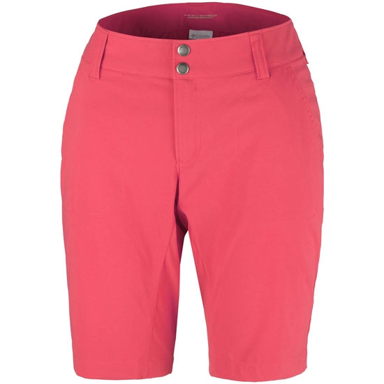 Columbia Saturday Trail Long Short W - Red Coral