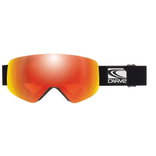 Carve Infinity Orange Iridium 2-3 - Matte Black