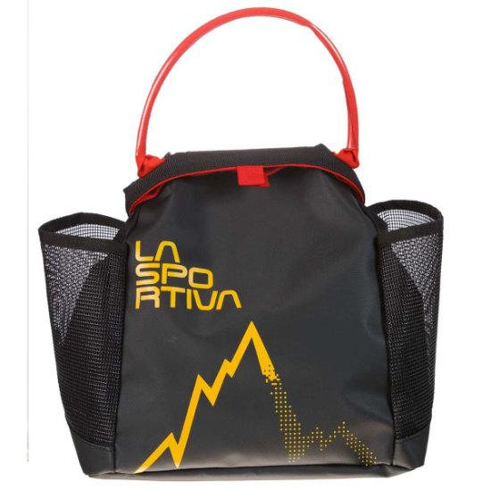 La Sportiva Training Chalk Bag - Black/Yellow