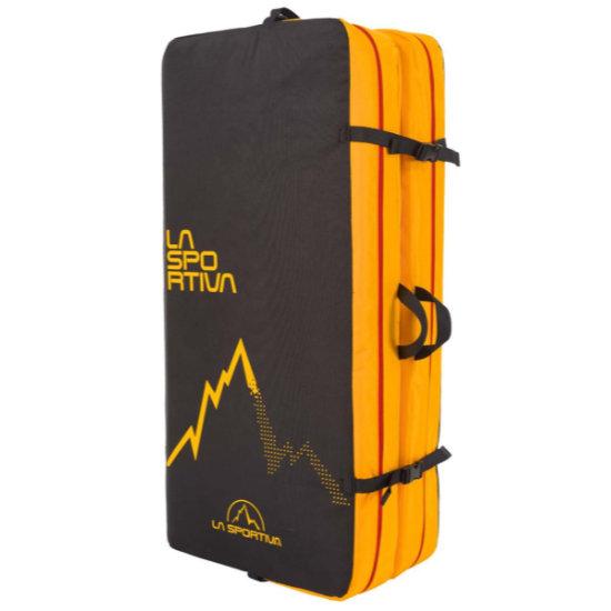 La Sportiva Laspo Crash Pad - Black/Yellow