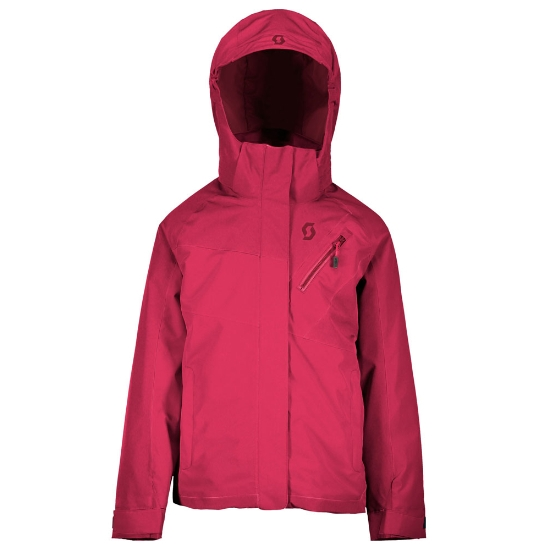 Scott Ultimate Dryo 10 Jacket Girl - Rubi Red