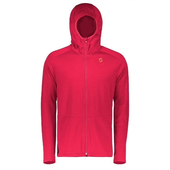 Scott Defined Merino Hoody - Royal Red
