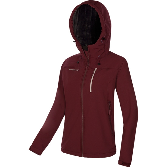 Trangoworld Wanaba Jacket W - Marron Granate