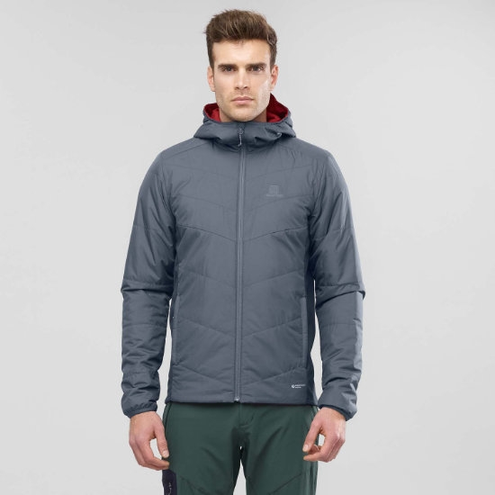 Salomon Drifter Mid Hoodie - Photo de détail
