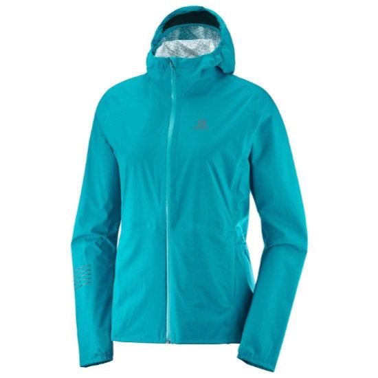 Salomon Lightning WP Jacket W - Tile Blue