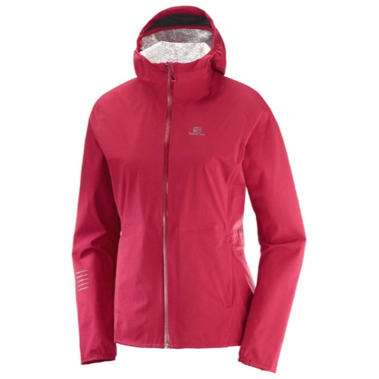 Salomon Lightning WP Jacket W - Rio Red