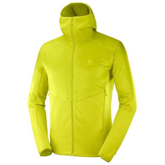 Salomon Outline Warm Jacket - Citronelle/Heather