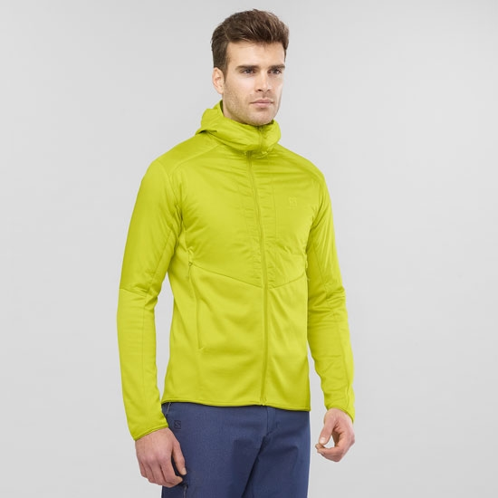 Salomon Outline Warm Jacket - Photo of detail