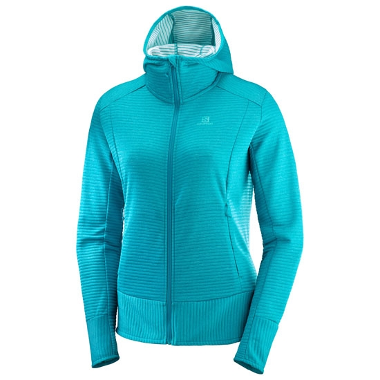 Salomon Right Nice Mid Hoodie W - Tile Blue